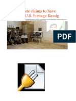 Islamic State Claims to Have Beheaded U.S. Hostage Kassig