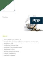Reforma Tributaria 201409