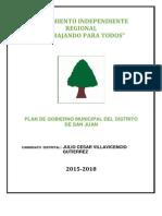Plan de Gobierno San Juan Castrovirreyna