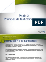 Cours 6 - Introduction à La Tarification