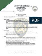Deputies Pre Employment Criteria