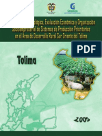 Zonificacion Aagroecologica Tolima