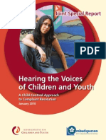 HearingtheVoices Report