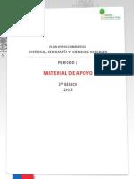 3° BÁSICO - ÍNDICE DE MATERIAL DE APOYO - HISTORIA