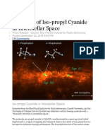 Detection of Iso-propyl Cyanide in Interstellar Space