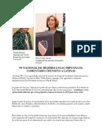 VP Nacional de Mujeres Lulac Impugna El Comentario Ofensivo a Latinas