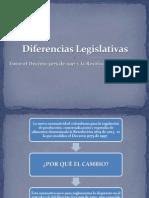 Diferencias Legislativas Decreto 3075 - Resolución 2674