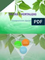 Composición Química de Frutas y Hortalizas