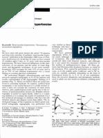 Hipertension renovascular pediatrica