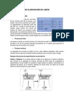 Procesos de Elaboración de Jabon y Detergentes