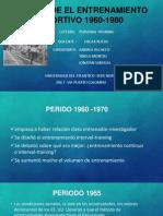 Historia de El Entrenamiento Deportivo 1960-1980