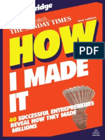 How I Made It 40 Successful Entre