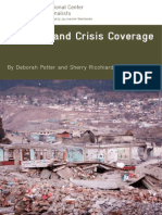Disaster & Crisis Reporting