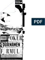 The Poker Tournament Formula by Arnold Snyder