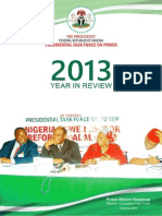 Year in Review Report 2013 PTFP