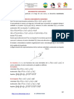 8.- Movimientos Curvilíneos y Longitud de Arco