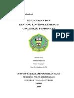 Pengawasan_dan_Rentang_Kontrol_Lembaga_Orgaisasi_Pendidikan_final.doc