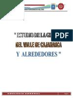 Estudio de La Geologia en Cajamarca... Obandyyy