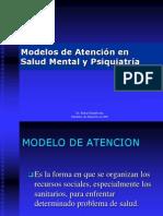 Modelos de Atención en salud mental