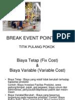 BREAK EVENT POINT (BEP).ppt