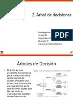 Arbol de Decisiones