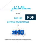 Top 100 Psychic Predictions