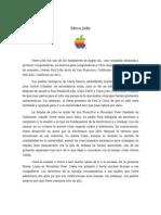 Steve Jobs - Ejemplo de Emprendedor