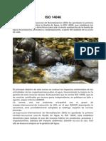 ISO 14046 Ecologia