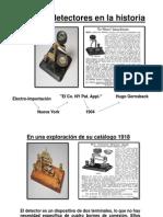 Algunos Detectores en La Historia Presentacion