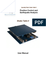 Shake Table II User Manual-Revision 3.10