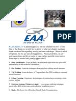 EAA Workshop Questionnaire