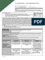 unit plan lesson 10 form