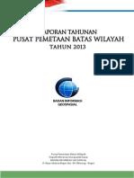 Batas Wilayah Indonesia - BIG 2013