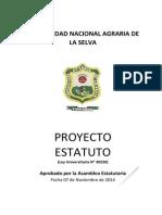 Proyecto Estatuto - Unas