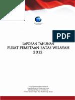Batas Wilayah Indonesia -  BIG 2012
