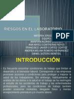 Factores de Riesgo en Laboratorio