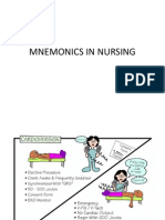 Mnemonics in Nursing