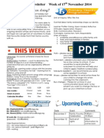 newsletter week of 171114
