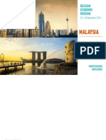 Belgian Economic Mission to Malaysia and Singapore 2014 Participants Brochure