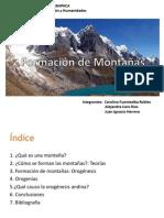 Formacion de Montañas