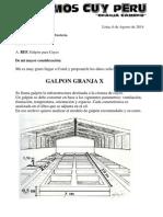 Costos de Producciòn Galpòn Base