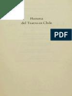 Historia Del Teatro Chileno