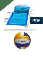 Un Balón de Voleibol