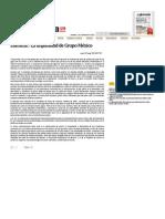 Editorial - La Impunidad de Grupo México — La Jornada
