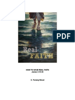 How to Have Real Faith