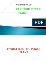 Basics of hydro power plant