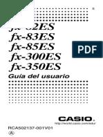 Manual Calculadoras Fx 82-83-85 300 350ES