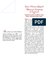 Calculation of Longitivity