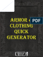 Armor & Clothing Quick Generator (6329769)