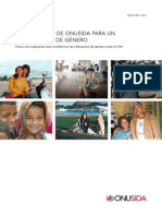 Instrumento de OnuSida para un diagnóstico de género